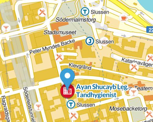 kontakta tandhygienist i Stockholm city